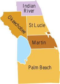 Counties-that-Braswell-Bail-Bonds-Service_Martin_Saint-Lucie_Palm-Beach_Indian-River_Okeechobee